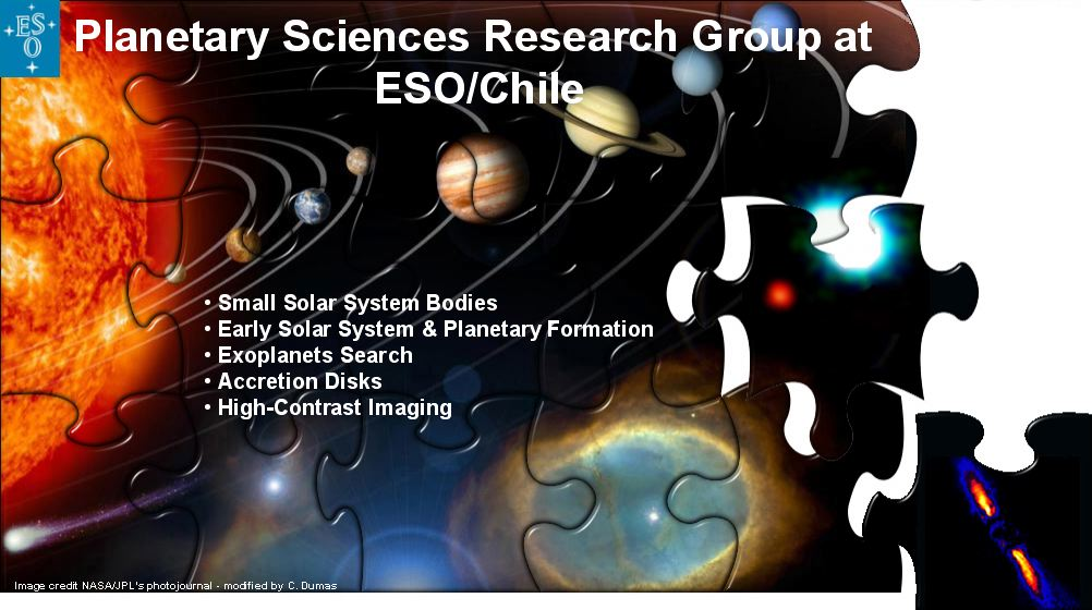 ESO Planetary Group LOGO