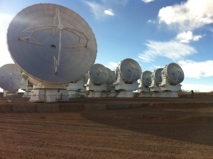 12m dish with the ACA