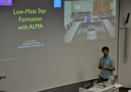 Low-mass star formation with ALMA by Jaime Pineda