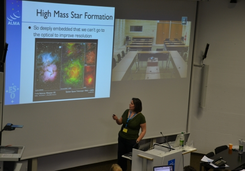 High-mass star formation with ALMA by Pamela Klaassen