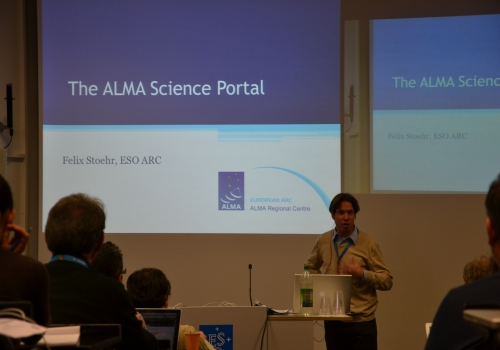 The ALMA Science Portal by Felix Stoehr