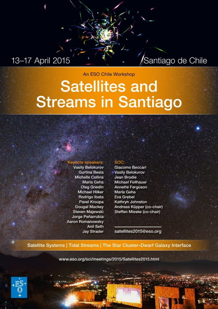 Satellites and Streams in Santiago