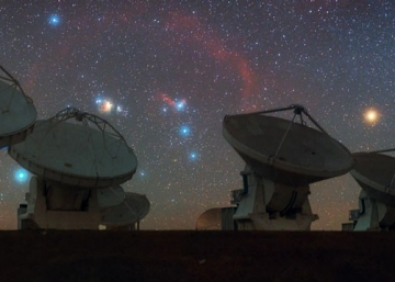Orion over ALMA