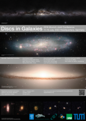 Disks in Galaxies - Conference poster