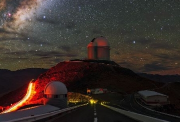 La Silla by night
