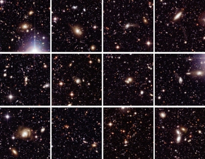 WFI images of galaxies in Chandra Deep Field South