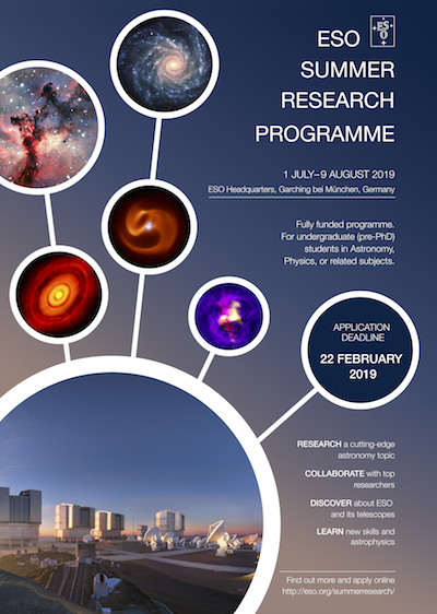 Summer Research Programme