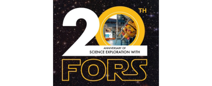 20th Anniversary of Science Exploration With FORS