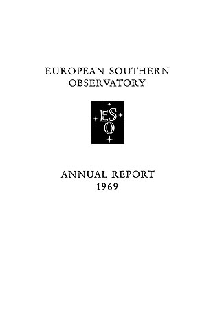 ESO Annual Report 1969