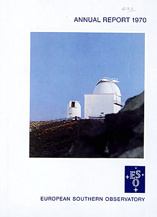 ESO Annual Report 1970
