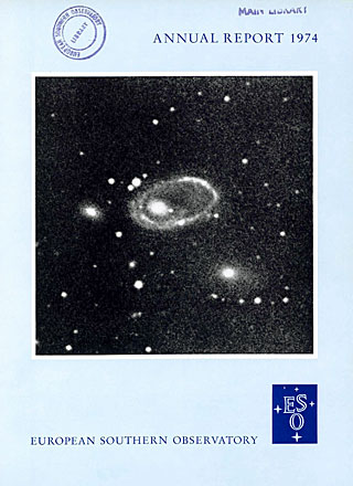 ESO Annual Report 1974