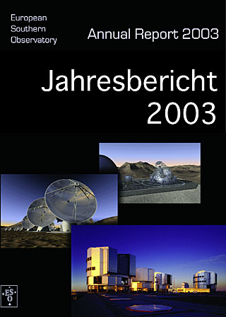 ESO Annual Report 2003 (German)