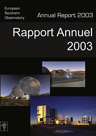 ESO Annual Report 2003 (French)