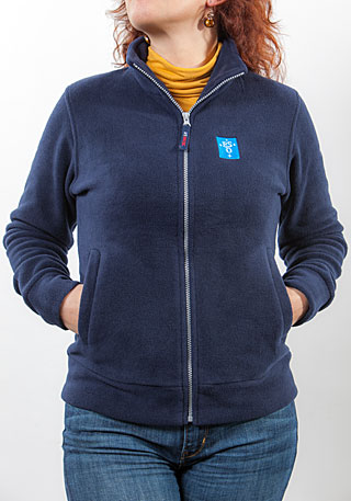 ESO Slim Fit Fleece Jacket: Women Size S