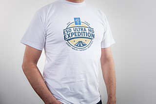 ESO Ultra HD Expedition T-shirt