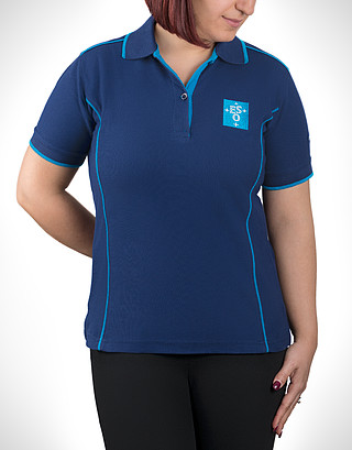 ESO Polo T-shirt  Women L 2017 Embroidered