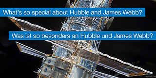 0814 Hubble and James Webb