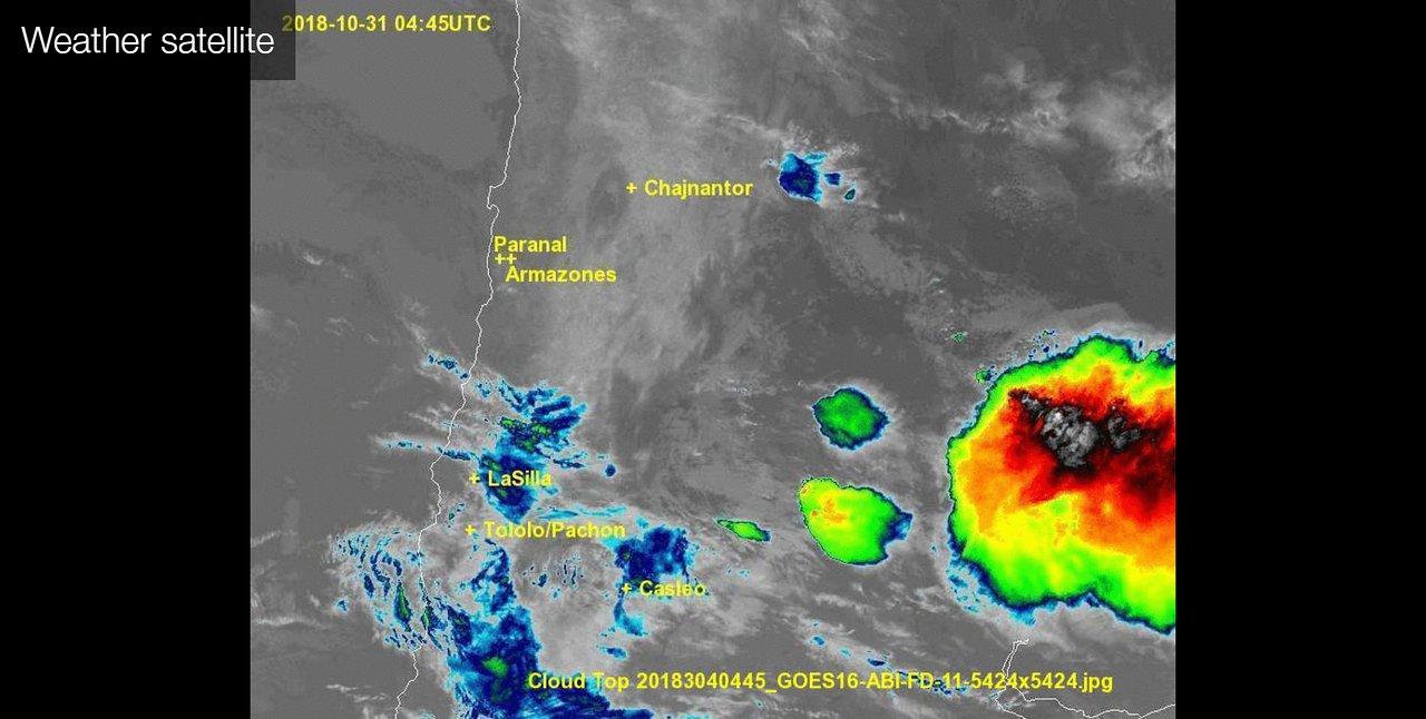 0706 Control room - Weather satellite   ESO United States