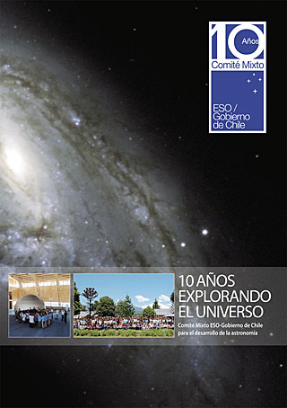 Book: 10 Years Exploring the Universe (Spanish)