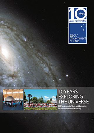 Book: 10 Years Exploring the Universe (English)