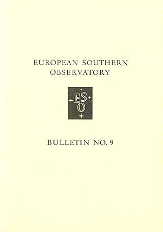Bulletin 09 - European Southern Observatory