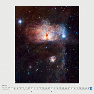 July 2010 — The hidden fires of the Flame Nebula