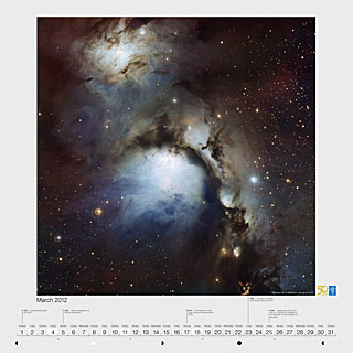March 2012 — Messier 78: A reflection nebula in Orion