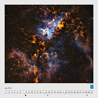 July - The cool clouds of Carina