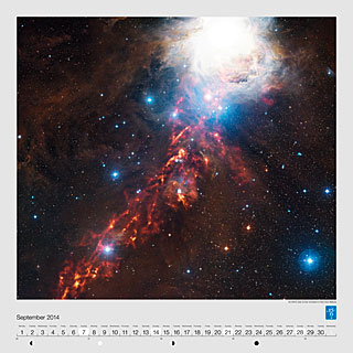 September - An APEX view of star formation in the Orion Nebula