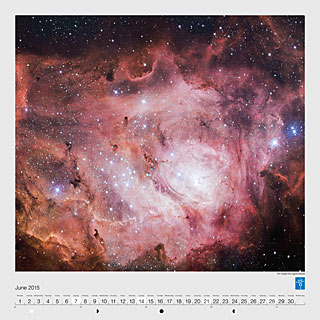 June – VST images the Lagoon Nebula
