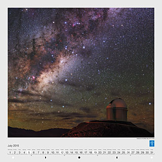 July – Radiance of the Milky Way over La Silla
