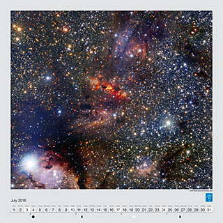 July - VISTA stares deep into the Milky Way