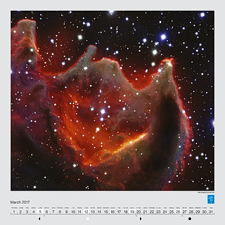 March – The cometary globule CG4