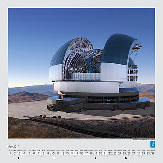 May – The future European Extremely Large Telescope