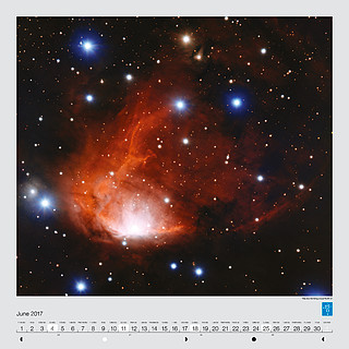 June – The star-forming cloud RCW 34