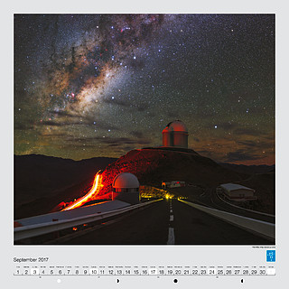 September – The Milky Way above La Silla