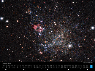 January – The Milky Way's tidy galactic neighbour