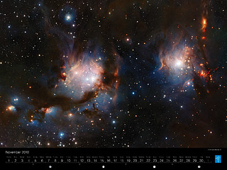 November – VISTA views Messier 78
