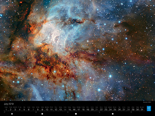 July - Star cluster RCW 38