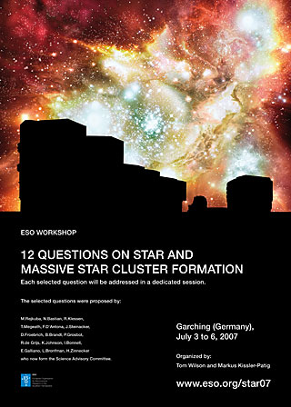 Poster: 12 Questions on Star and Massive Star Cluster Formation 2007