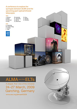 Poster: ALMA and the ELTs