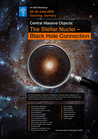Poster: Central Massive Objects 2010