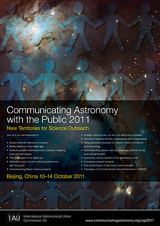 Poster: Communicating Astronomy with the Public 2011 (CAP 2011)