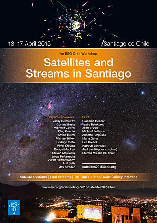 Poster: An ESO Chile Workshop: Satellites and Streams in Santiago