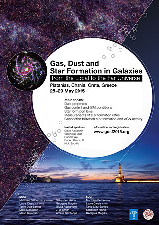 Poster: Gas, Dust and Star Formation in Galaxies Conference