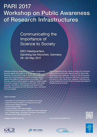PARI 2017 Workshop on Public Awareness of Research Infrastructures