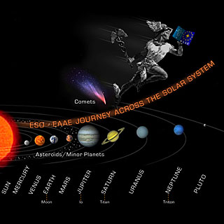 The ESO/EAAE Journey Across the Solar System