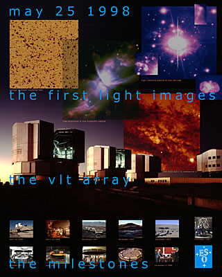 Poster: VLT UT1 First Light