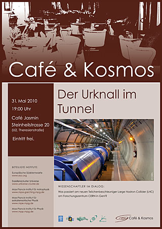 Poster: Café & Kosmos - 31 May 2010