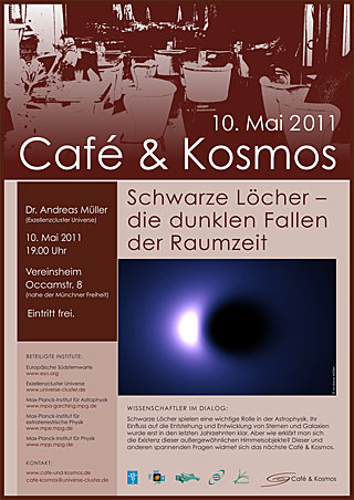 Poster: Café & Kosmos - 10 May 2011